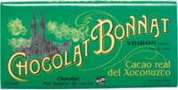 Chocolat Bonnat Cacao real del Xoconuzco Mexique 75% de Cacao