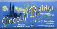 Chocolat Bonnat Los Colorados Équateur 75% de Cacao