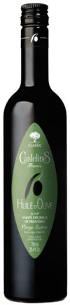 Castelines Extra Virgin Olive Oil Huile d'Olive Vierge Extra Classic Vallée des Baux de Provence