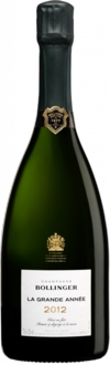 2012 Champagne Bollinger Brut La Grande Année
