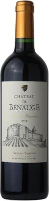 2018 Château de Benauge Cuvée des Seigneurs Bordeaux Supérieur