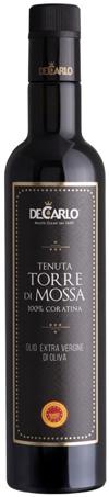 Olio Extra Vergine di Oliva Tenuta Torre di Mossa 100% Coratina DeCarlo