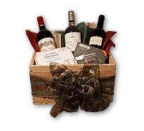 Wooden Wine Box Gift Wrap