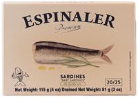 Espinaler Premium Baby Sardines In Olive Oil